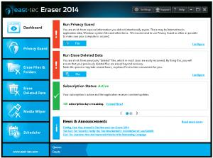 Test east-tec Eraser 2014