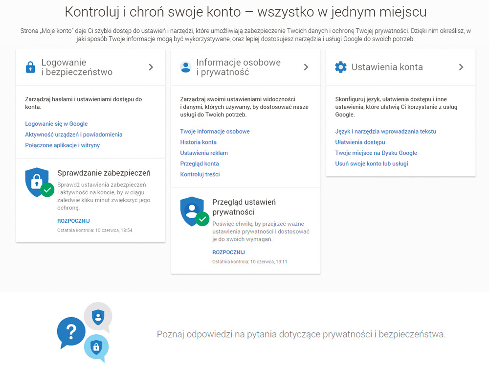 04b2b8a48fb09d Google Moje konto - skonfiguruj swoje Google - Internet - PC Format
