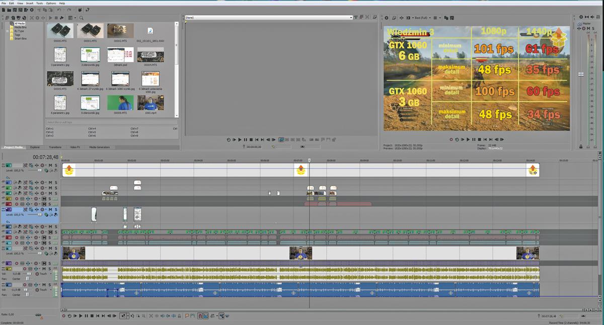 Test Magix Vegas Pro 14 Edit - Foto/Audio/Wideo - PC Format