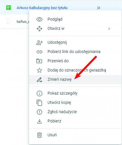 Jak zorganizować Dysk Google'a 6