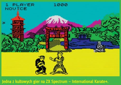 Jedna z gier na ZX Spectrum