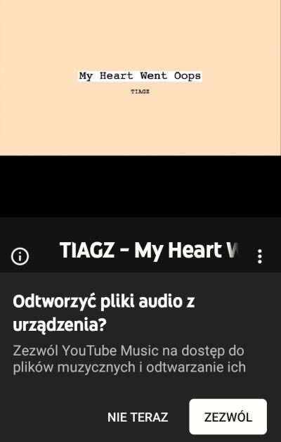 wlasna muzyka w ytmusic