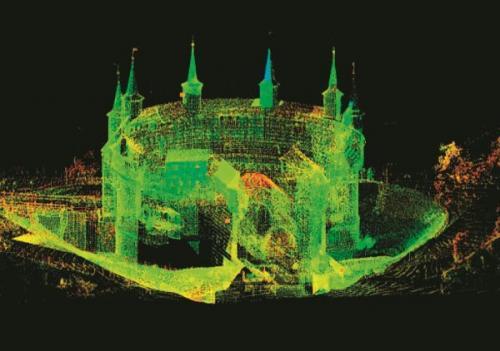 Digitalizacja, punkt lasera 3D