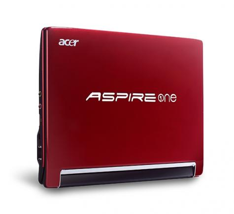 Aspire One 533: nowy netbook Acera