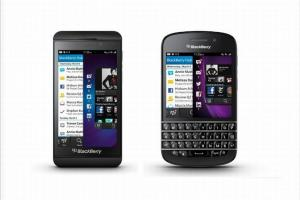 BlackBerry Z10 i Q10 wraz z systemem BlackBerry 10