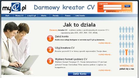 Mycvpl Darmowy Kreator Cv Aktualności Pc Format