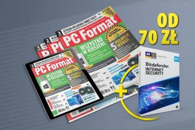 Prenumerata PC Formatu z programem antywirusowym