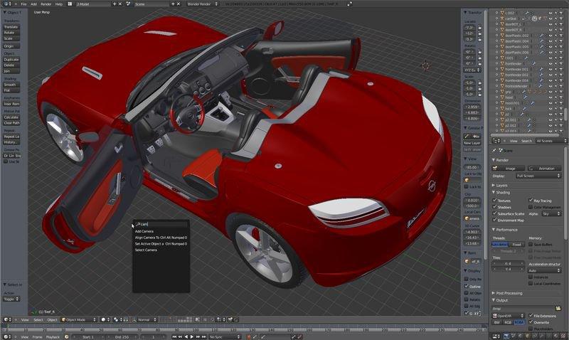 Blender pc format pobierz ci gnij download for Programmi per designer