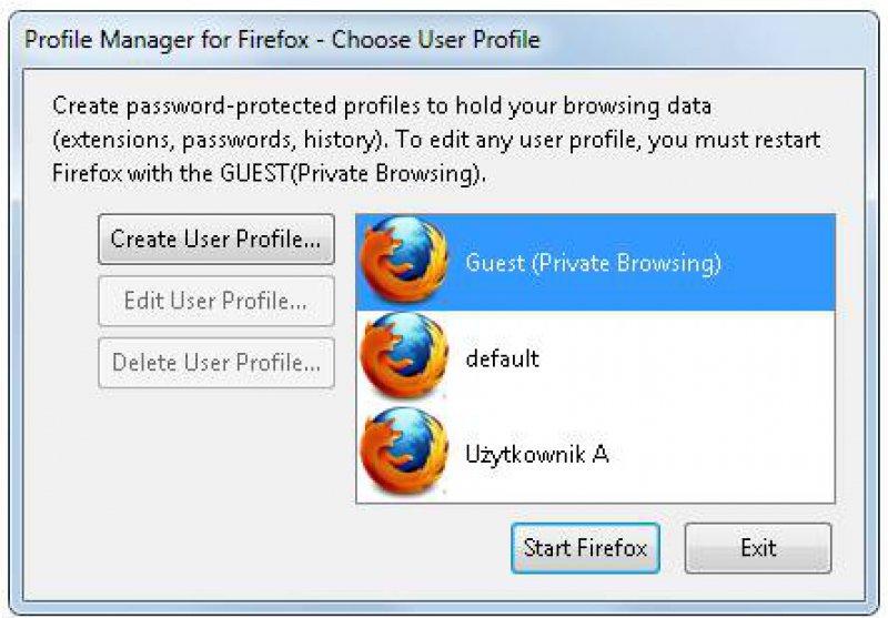 Firefox Profile Manager Plus 1 0 - PC Format - pobierz