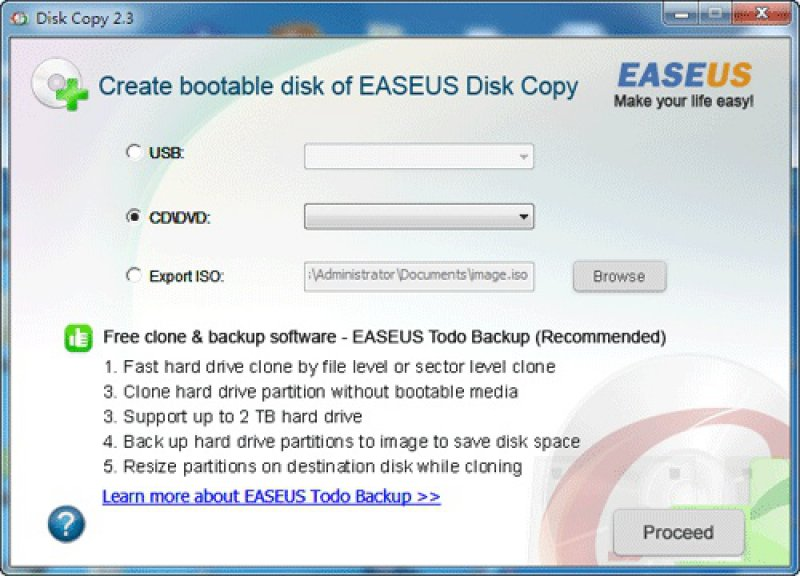 EaseUS Disk Copy - Free download and software reviews