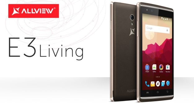 Smartfon E3 Living od Allview Mobile
