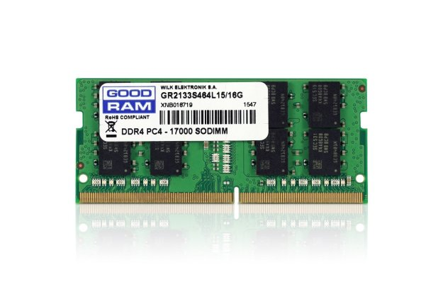 Goodram DDR4 SODIMM 16 GB do notebooków