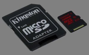 Kingston Digital - karta microSD U3 z serii Gold