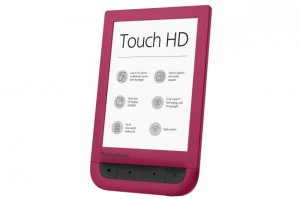 PocketBook Touch HD w czerwieni