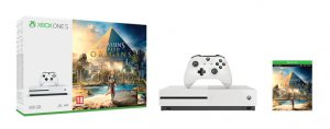 Konsola Xbox One S z grą Assassin's Creed Origins