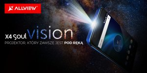 Allview X4 Soul Vision – smartfon z projektorem