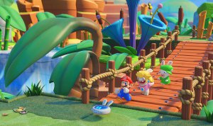 Tryb Versus w Mario+Rabbids Kingdom Battle