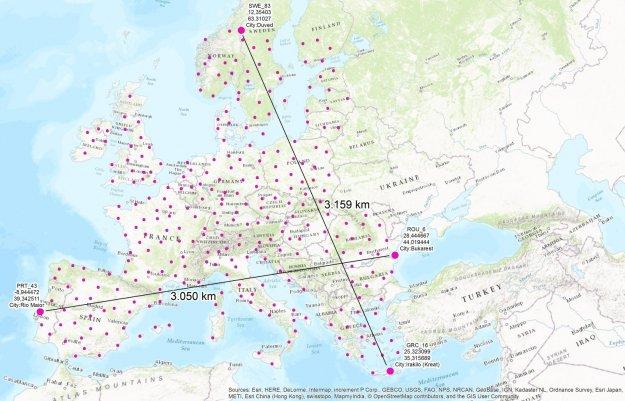 W europejskich samolotach internet o przepusowości 75 Mbps ...