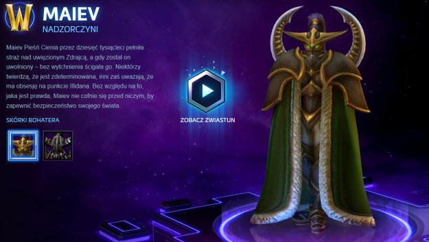 Heroes of the Storm - do Nexusa przybyła Maiev