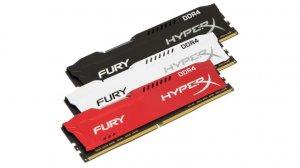 HyperX rozszerza linie pamięci RAM FURY DDR4 i Impact DDR4