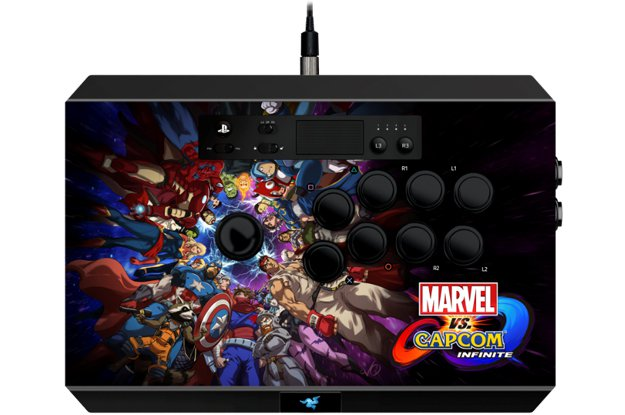 Arcade stick dla fanów Marvel vs. Capcom: Infinite