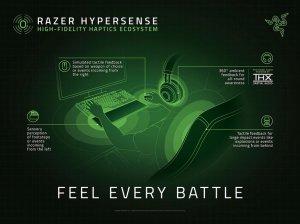 Razer HyperSense - nowy sposób wykorzystania dotyku w grach