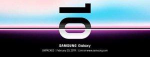 Samsung Galaxy S10 - oficjalna data premiery