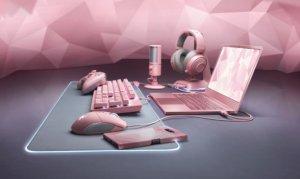 Akcesoria Razera w różowej wersji