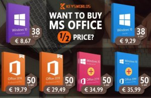 Pakiet Office Suite lub Windows 10 za 8,67 euro