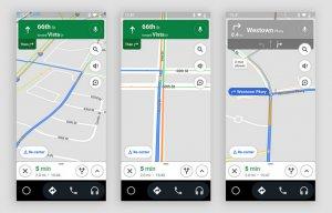 Światła drogowe w Mapach Google