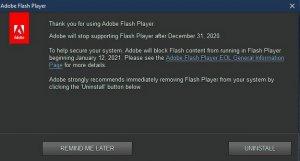 Flash Player: jeszcze trzy dni