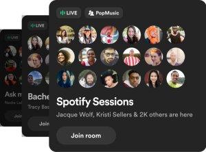 Greenroom autorstwa Spotify z rozczarowującymi wynikami